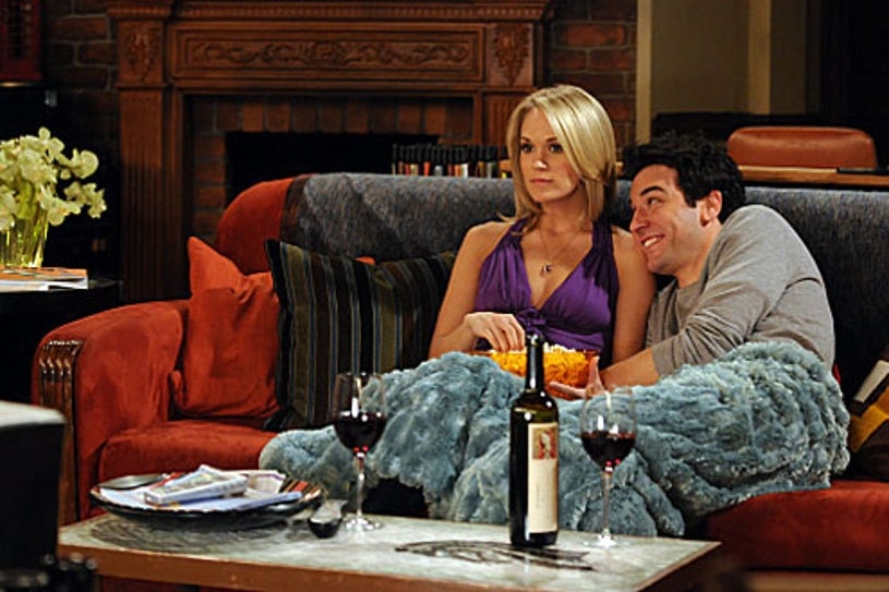 """How I Met Your Mother - Season 5 - """"Hooked"""" - Guest star Carrie Underwood as Tiffany and Josh Randor"""