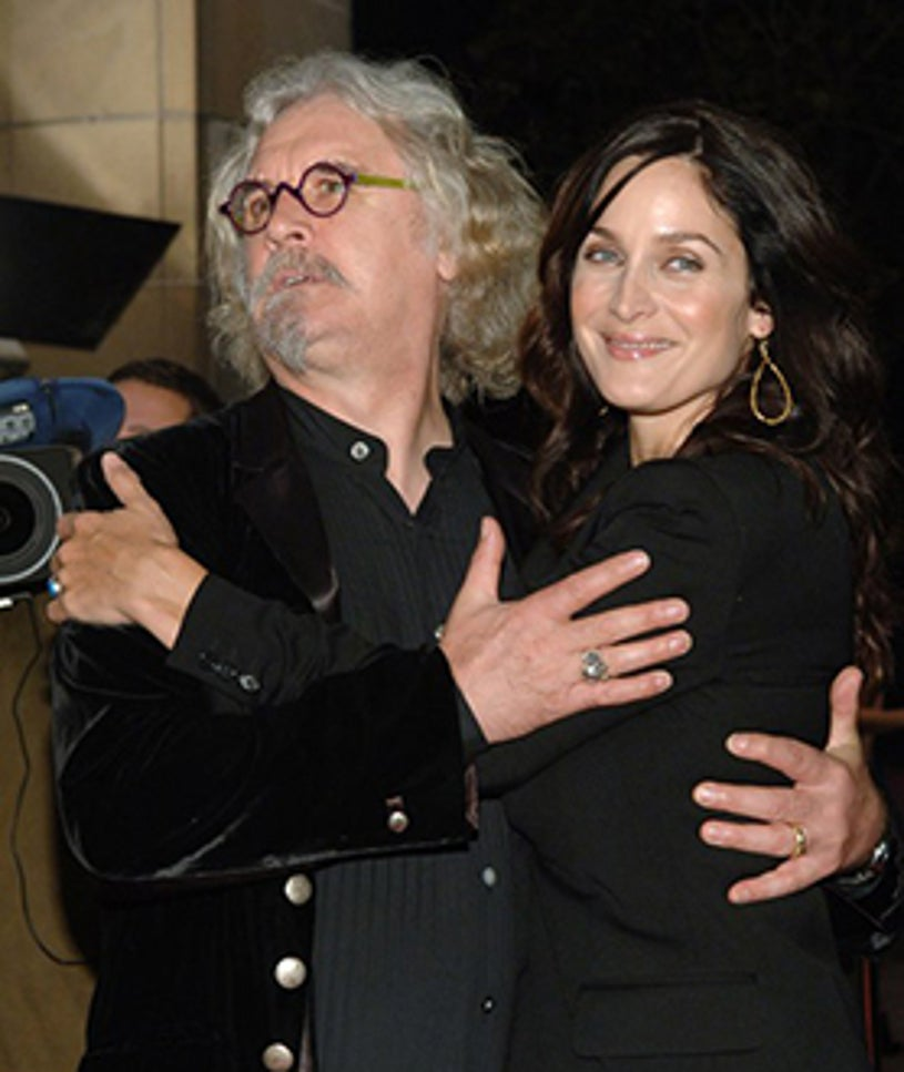 """Billy Connolly and Carrie-Anne Moss - The 31st Annual Toronto International Film Festival """"Fido"""" premiere, September 7, 2006"""