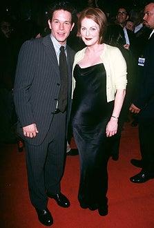 """Mark Wahlberg and Julianne Moore - """"Boogie Nights"""" Premiere 1997"""