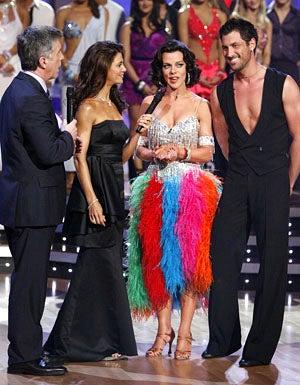 Dancing With The Stars - Season 9 - Tom Bergeron, Samantha Harris, Debi Mazar and Maksim Chmerkovskiy