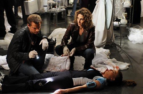 """CSI: NY - Season 5, """"Help"""" - Carmine Giovinazzo as Danny Messer, Melina Kanakaredes as Det. Stella Bonasera"""