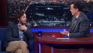 Casey Affleck Gets Testy with Stephen Colbert