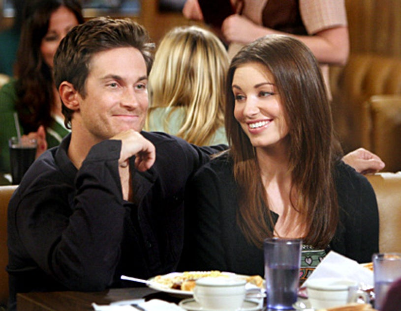 """Rules of Engagement - """"Jeff's Wooby"""" - Oliver Hudson as Adam, Bianca Kajlich as Jennifer"""