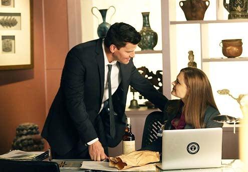 """Bones - Season 9 - """"The Source in the Sludge"""" - David Boreanaz and Emily Deschanel"""
