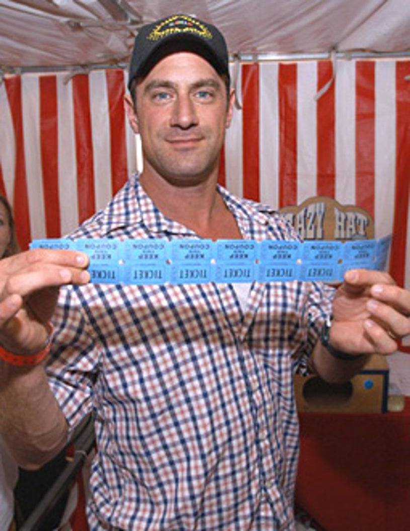 Chris Meloni at the 10th Annual Kids for Kids Celebrity Carnival to benefit the Elizabeth Glaser Pediatric AIDS Foundation, 2003