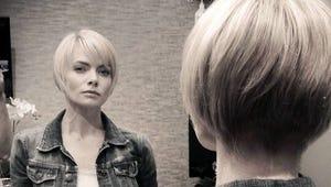 Jaime Pressly Cuts Her Hair Super Short
