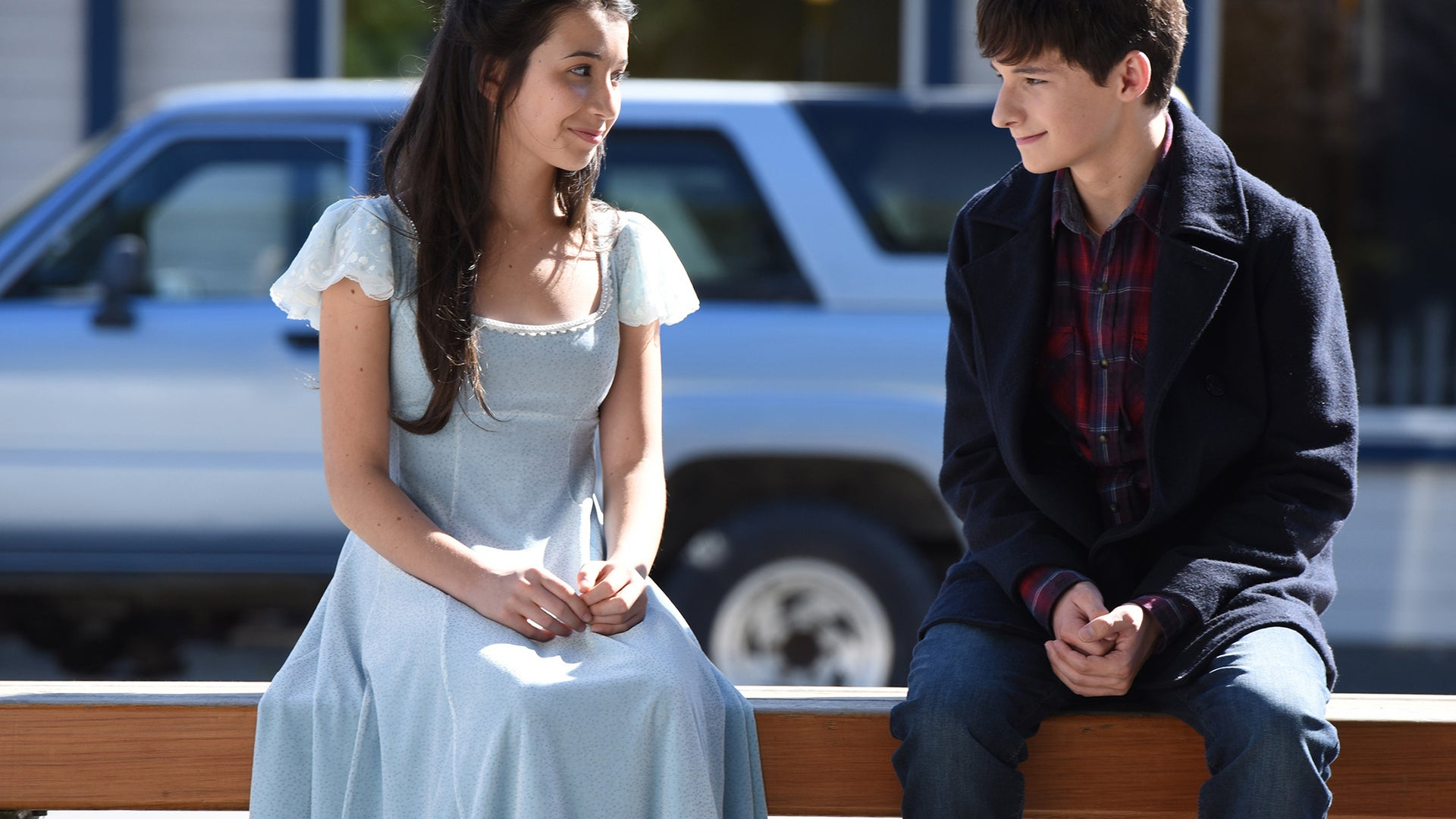 Olivia Steele-Falconer and Jared Gilmore, Once Upon a Time