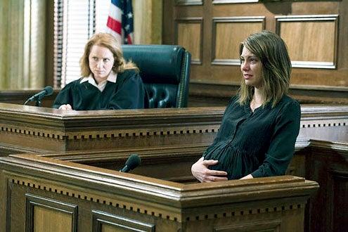 "Law & Order: Special Victims Unit - Season 14 "" Legitmate Rape"" - Jenna Stern and Lauren Cohan"