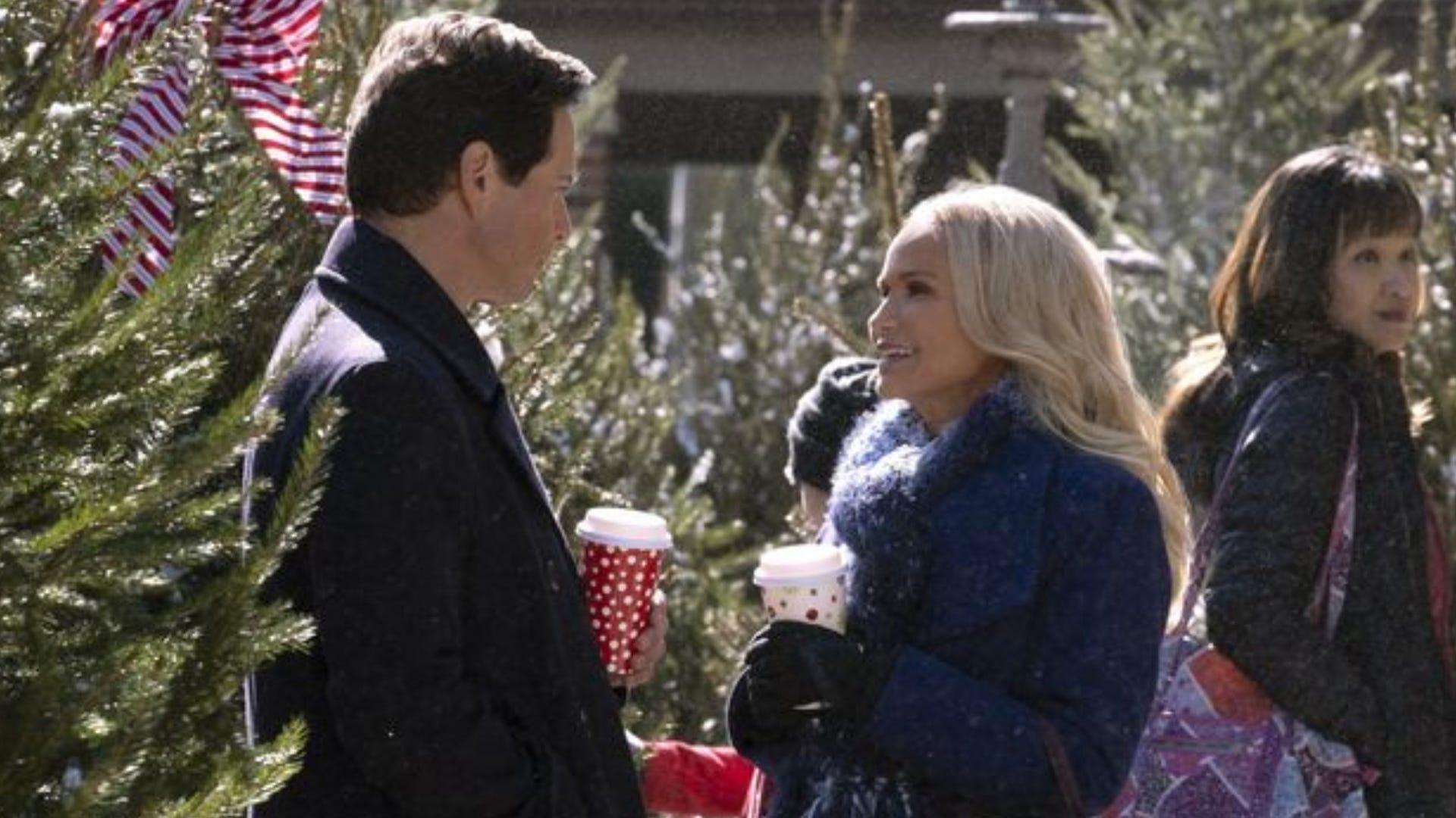 Scott Wolf and Kristen Chenoweth, A Christmas Love Story