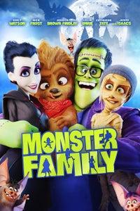 Monster Family as Dracula