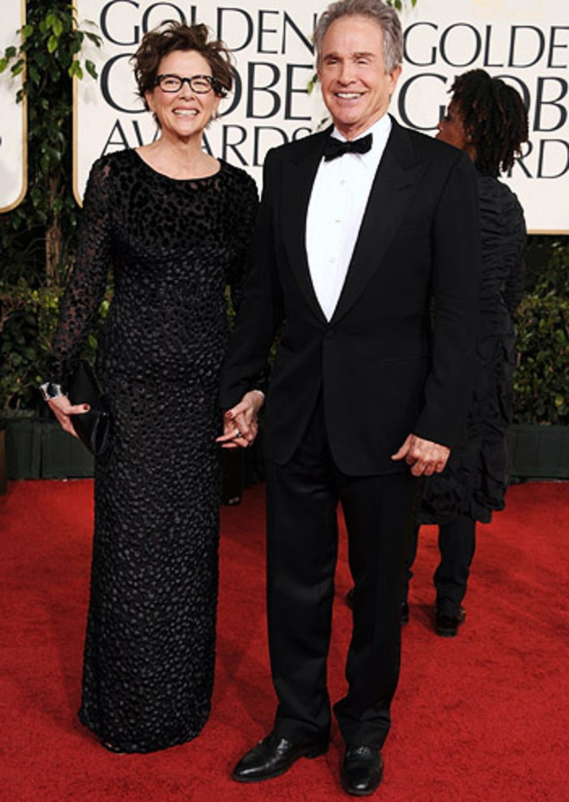 Annette Bening and Warren Beatty - The 68th Annual Golden Globe Awards, January 16, 2011