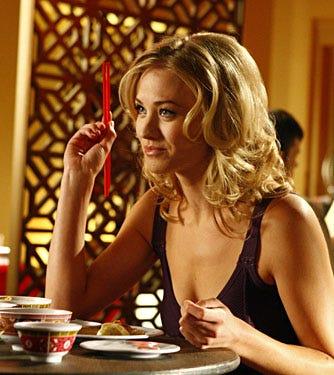 "Chuck - Season 2 Premiere, ""Chuck vs. the First Date"" - Yvonne Strahovski as Sarah Walker"