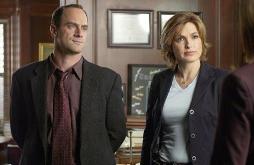 Law & Order: Special Victims Unit - Chris Meloni and Mariska Hargitay