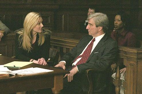 Law & Order - Elizabeth Rohm and Sam Waterston