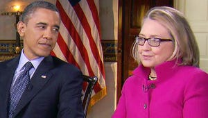 """President Obama, Secretary of State Clinton Discuss """"Improbable"""" Friendship on 60 Minutes"""