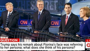 How Fiorina Bested Trump and 6 More Highlights From CNN's Republican Debate