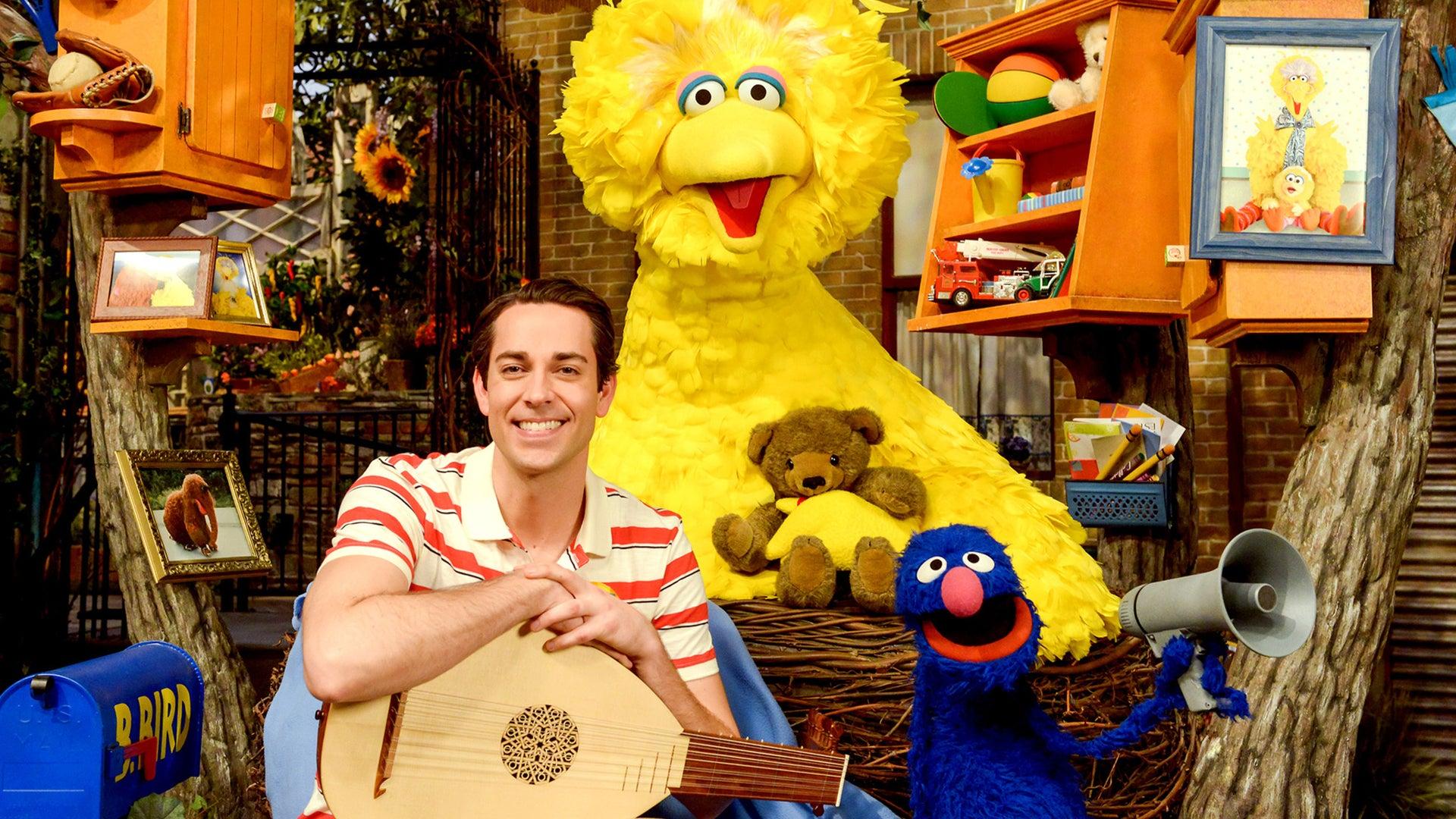 Zachari Levi, Sesame Street