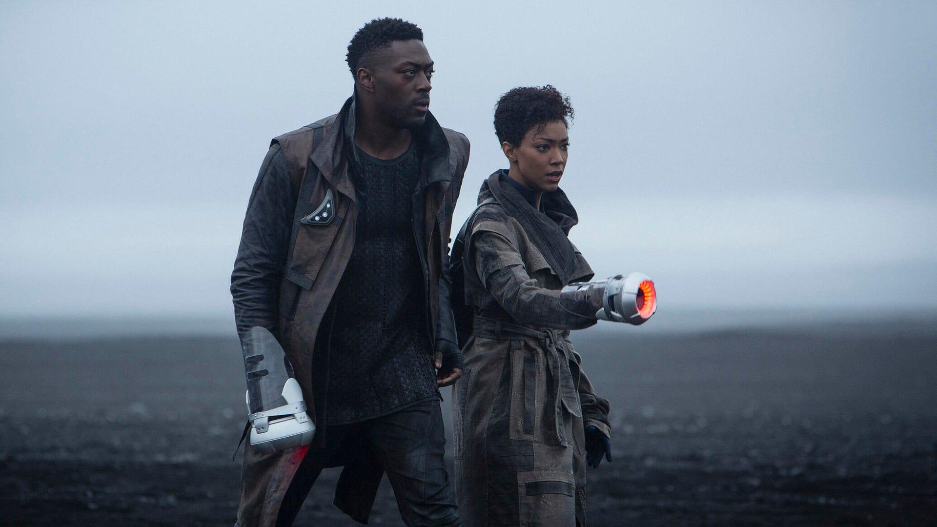 David Ajala and Sonequa Martin-Green, Star Trek: Discovery