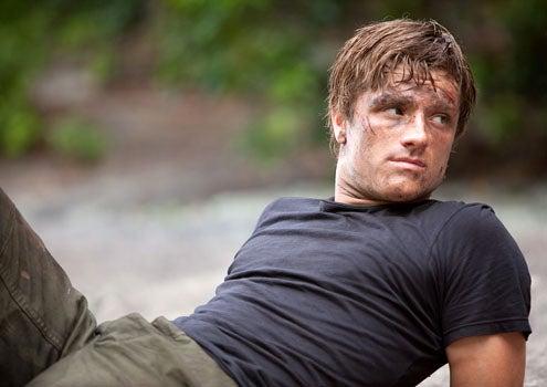 The Hunger Games - Josh Hutcherson as Peeta Mellark