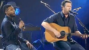 Blake Shelton and Usher Duet, Miranda Lambert Tears Up at Oklahoma Benefit Concert
