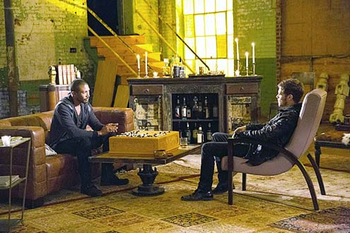 "The Originals - Season 2 - ""Reirth"" - Charles Michael Davis and Joseph Morgan"