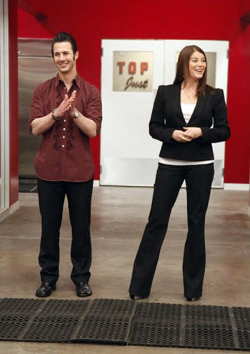 Top Chef: Just Desserts - Season 1 - Johnny Iuzzini and Gail Simmons