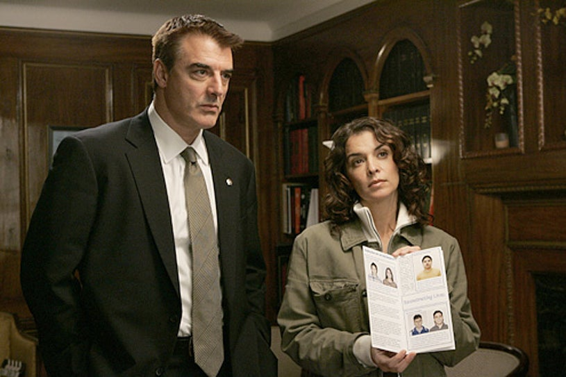 Law & Order: Criminal Intent - Chris Noth and Annabella Sciorra