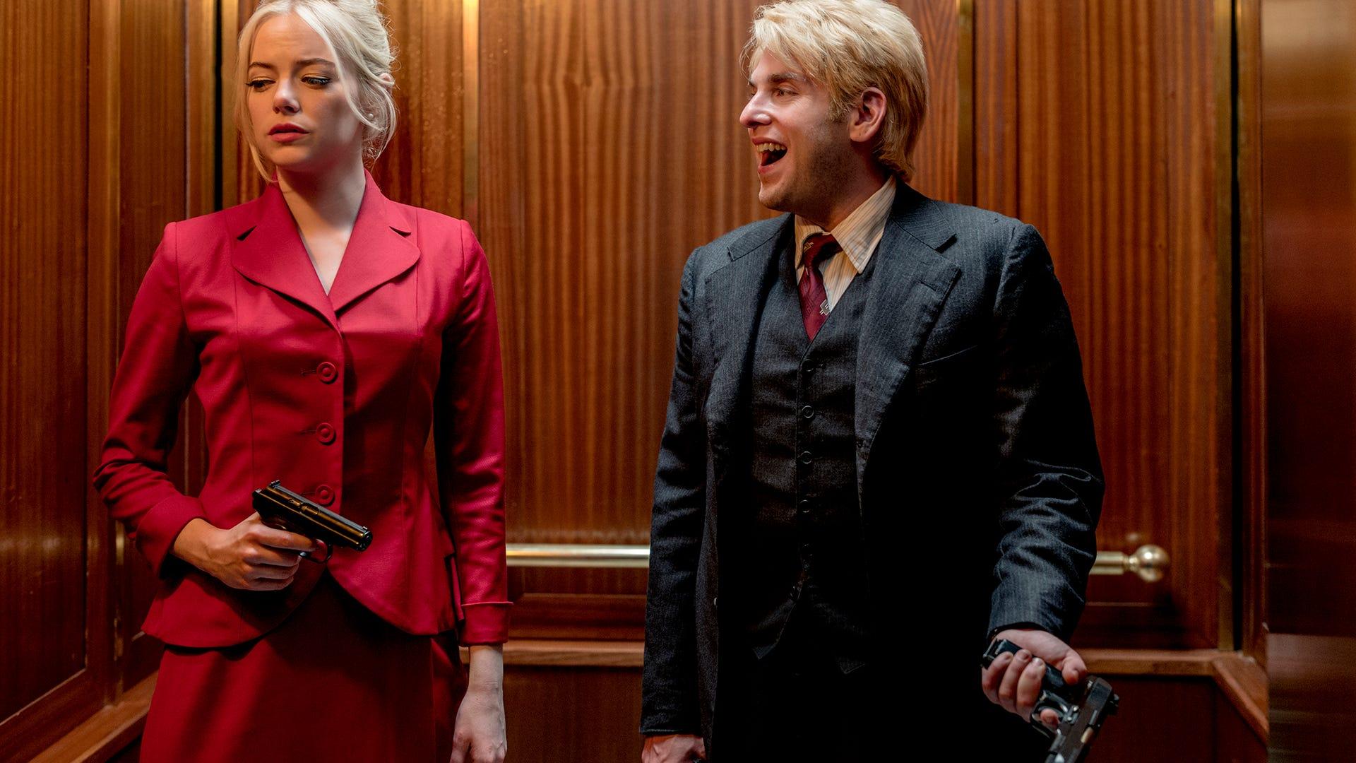 Emma Stone and Jonah Hill, Maniac