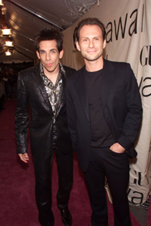 Christian Slater and Ben Stiller -  VH1 Vogue Fashion Awards, Oct. 2000