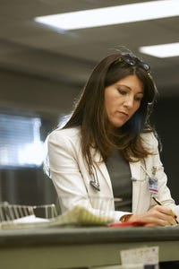 Eve Best as Monica Chatwin