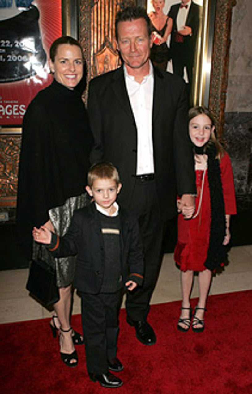 """Robert Patrick and family - Irving Berlin's """"White Christmas"""" Los Angeles Opening"""