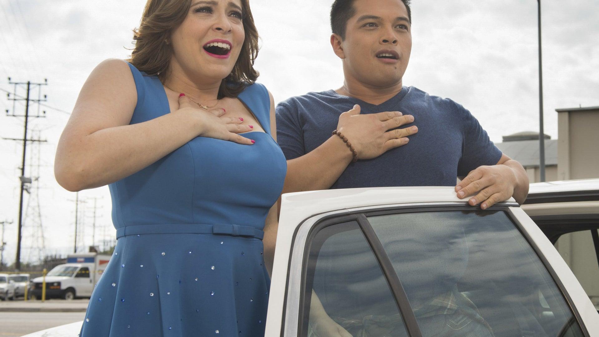 Rachel Bloom and Vincent Rodriguez, Crazy Ex-Girlfriend