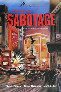 Sabotage as Mrs. Verloc