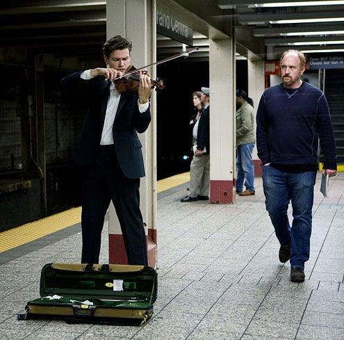 "Louie - Season 2 - ""Subway"" - Filip Pogady and Louis C.K."