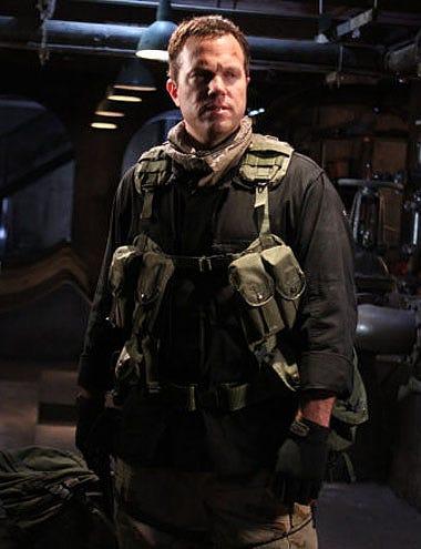 """Chuck - Season 4 - """"Chuck vs. the Couch Lock"""" - Adam Baldwin as John Casey"""