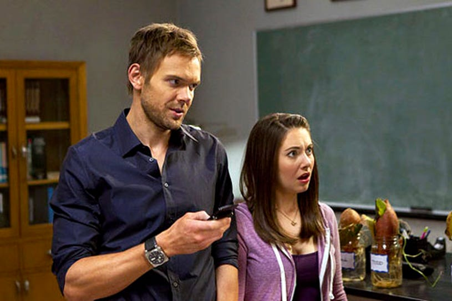 "Community - Season 3 - ""Basic Lupine Urology"" - Joel McHale and Alison Brie"
