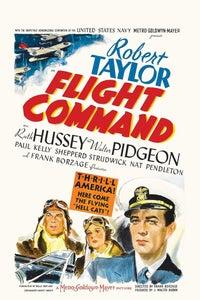 Flight Command as Lt. Bush