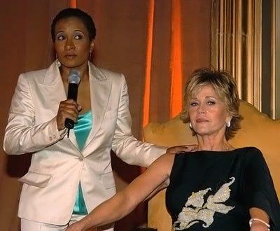 "Wanda Sykes and Jane Fonda - ""Monster-In-Law"" Atlanta Screening to Benefit G-CAPP, May 5, 2005"