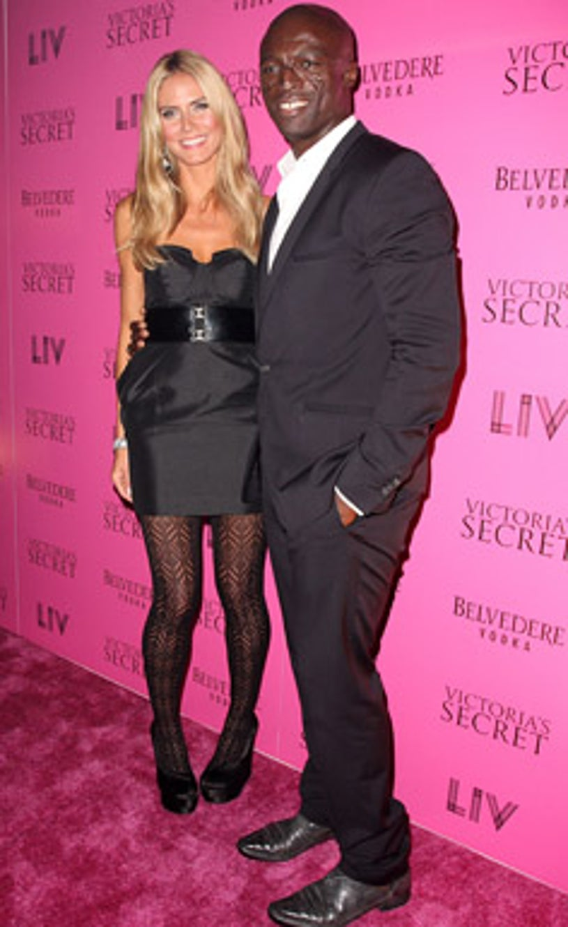 Heidi Klum and Seal - Victoria's Secret Show after party in Miami Beach, November 14, 2008