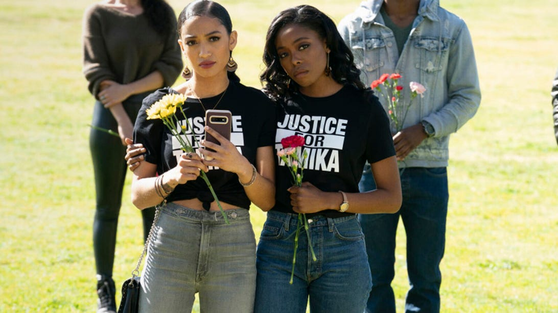 Samantha Logan and Asjha Cooper, All American