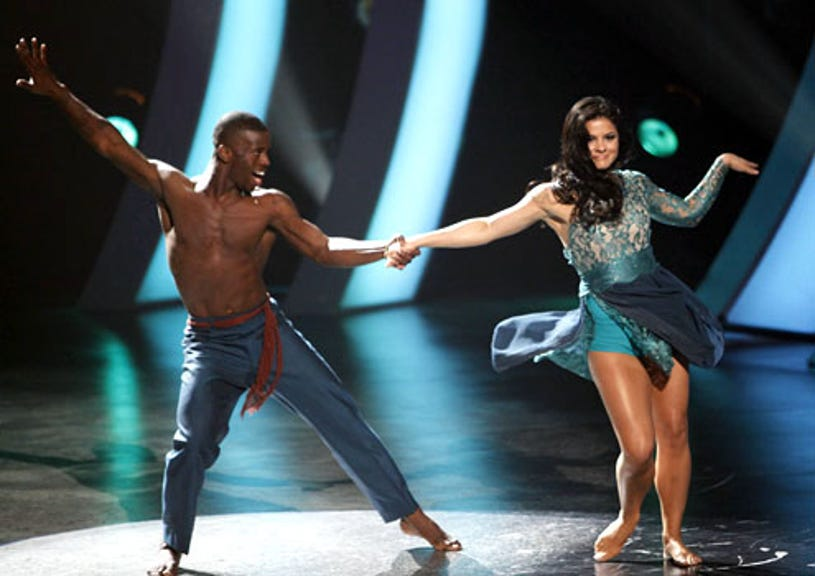 So You Think You Can Dance - Season 7 - Adechike Torbert performs a Jazz routine with Courtney Galiano