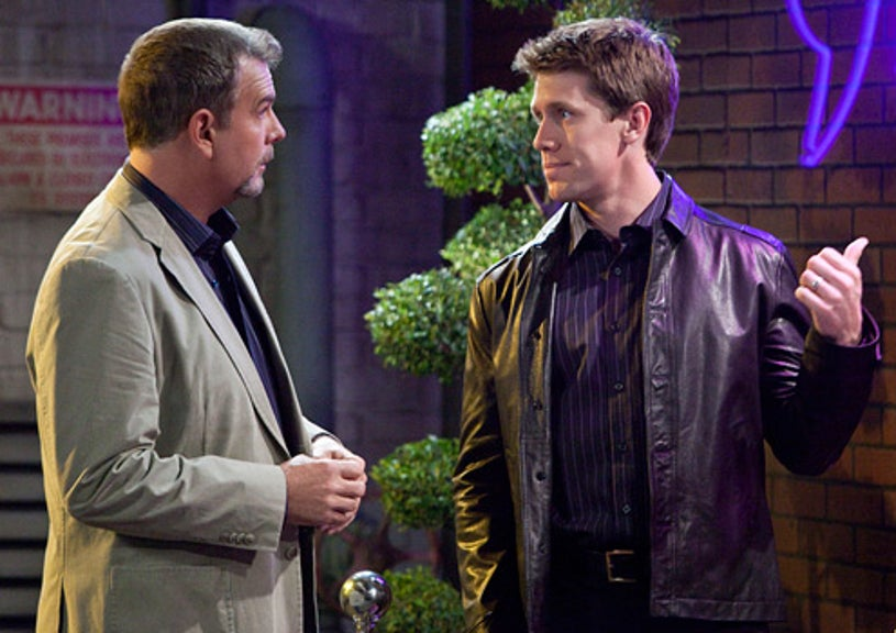 """The Bill Engvall Show - Season 3 - """"The Way We Were"""" - Bill Engvall and Carl Edwards"""
