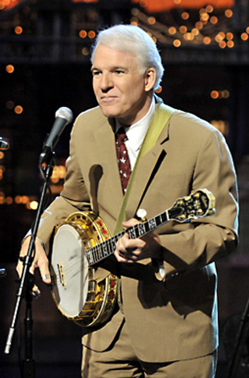 The Late Show with David Letterman - Steve Martin - Feb. 2, 2009