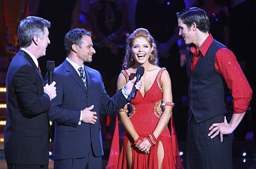 Dancing with the Stars - Season 5 - Albert Reed, Anna Trebunskaya, Tom Bergeron, Drew Lachey