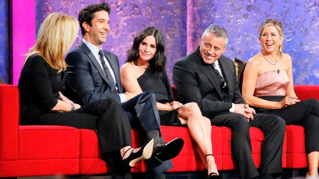 David Schwimmer, Courteney Cox, Matt LeBlanc, and Jennifer Aniston, An All-Star Tribute to James Burrows