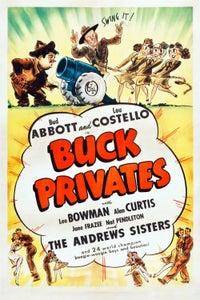 Buck Privates as Maj. Gen. Emerson