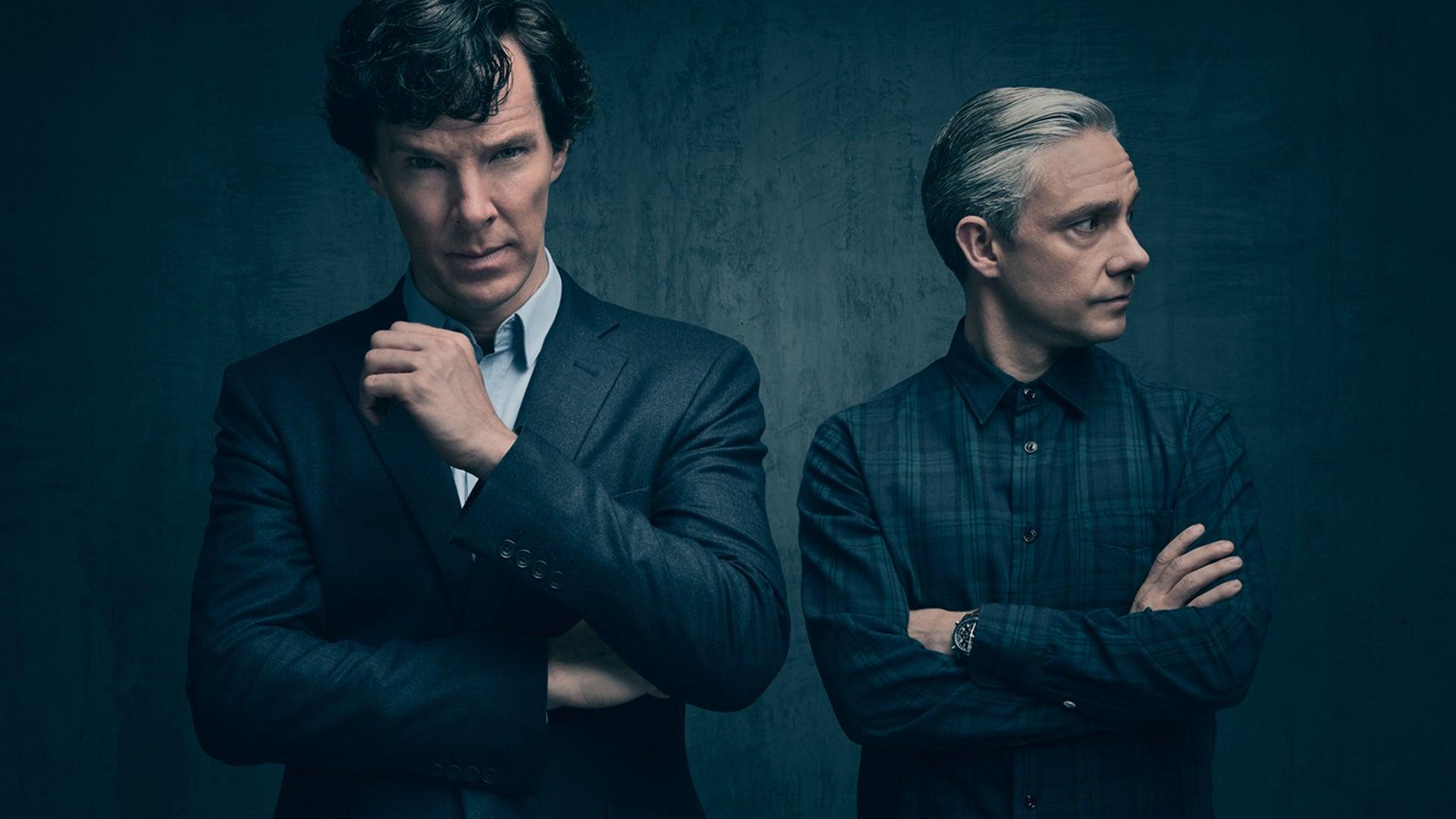 Benedict Cumberbatch and Martin Freeman, Sherlock