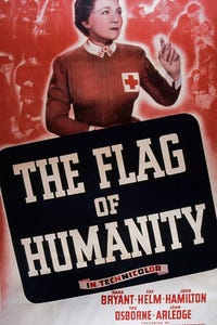 The Flag of Humanity as Clara Barton