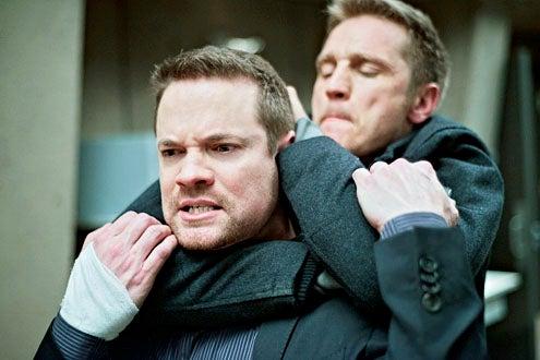 "Nikita - Season 3 - ""Masks"" - Shane West and Devon Sawa"