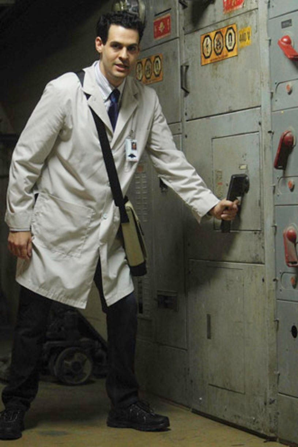 "Bones - Season 8 - ""The Corpse in the Canopy"" - Andrew Leeds as Christopher Pelant"